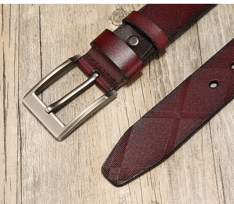 genuine leather belts men high quality