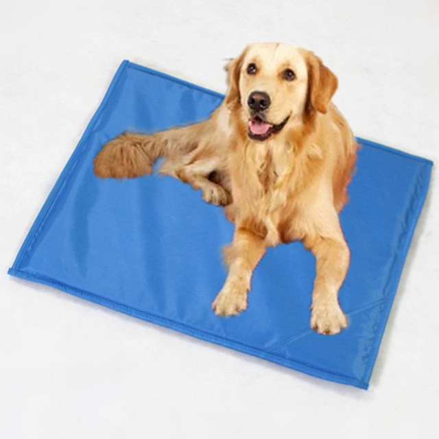 Dog Bed Cooler Mat Pad Cool Pet Cooling Dog Pad Cushion Summer Cooling Bed Mat Soft Cool Dog House Mat Not Gel