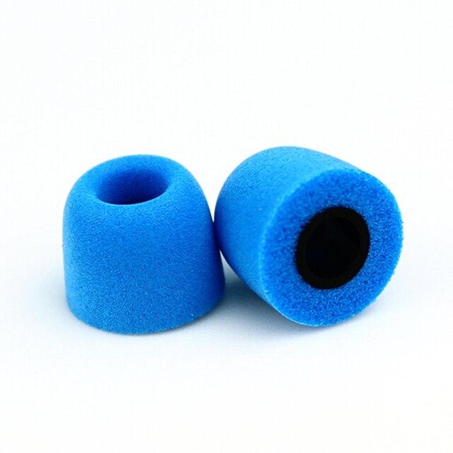 1 pairs/2ピースnicehckノイズ分離するメモリ泡cセット5ミリメートルを遵守t400イヤーチップイヤーパッド用で耳イヤフォンインナーイヤー型