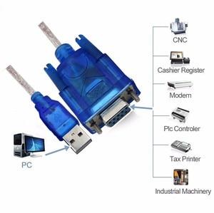 Image 5 - USB RS 232 DB9 9 pin Seri Kablo w/dişi adaptör Destekler Windows 8 CD Yok