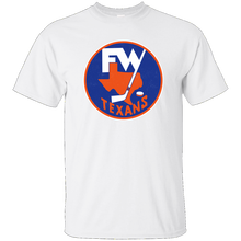Fort Worth Texans, Hockey, CHL, Retro, 1970's, Throwback, Jersey Logo, T-shirt Harajuku Tops Fashion Classic Unique t-Shirt цена 2017