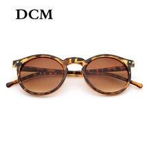 DCM – lunettes de soleil à monture ronde pour femmes, rétro, marque de styliste, rose, noir, bleu, pour l'extérieur et la conduite, UV400, nouvelle collection