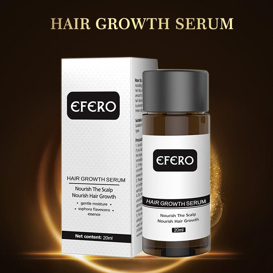 EFERO Hair Growth Essence Hair Loss Serum Essential Oils Dense Hair Growth Serum HairCare Prevent Baldness Anti-Hair Loss Serum