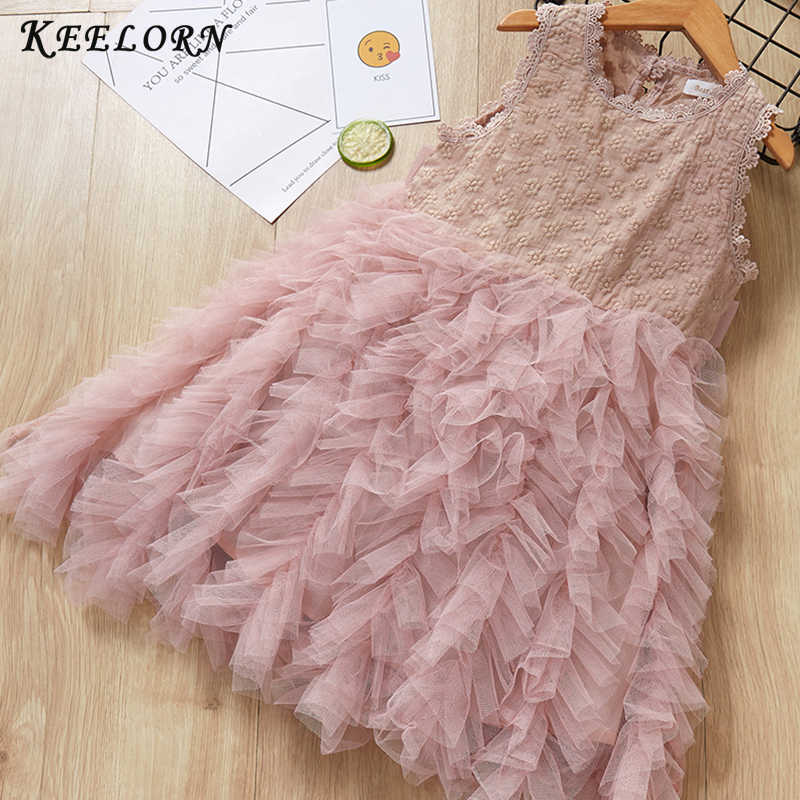e632b6a65d84 Detail Feedback Questions about Keelorn Girls Dress 2019 Summer Casual Style  Baby Princess Lace Plaid Toddler Kids Dress for Girls Clothes Vestido  Children ...