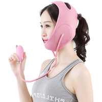 Inflatable Mask Bandage To Make Your Face Keep Thin Lose Weihgt,small Face Plastic Sleeping Mask, Lift, Tight Surface T3035XBE
