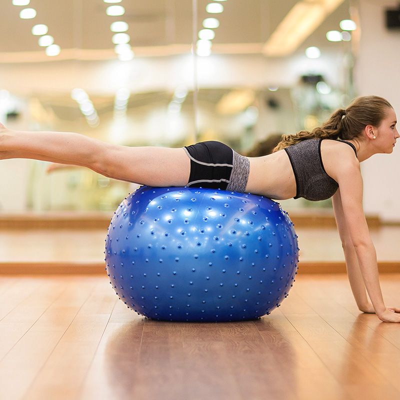 Masaj Yoga Ball 65cm hissəciklər arıqlayan partlayışa davamlı - Fitness və bodibildinq - Fotoqrafiya 2