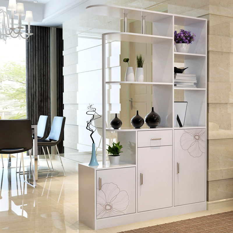 Online Shop Home-resistant double-sided hall cabinet wine cabinet ...