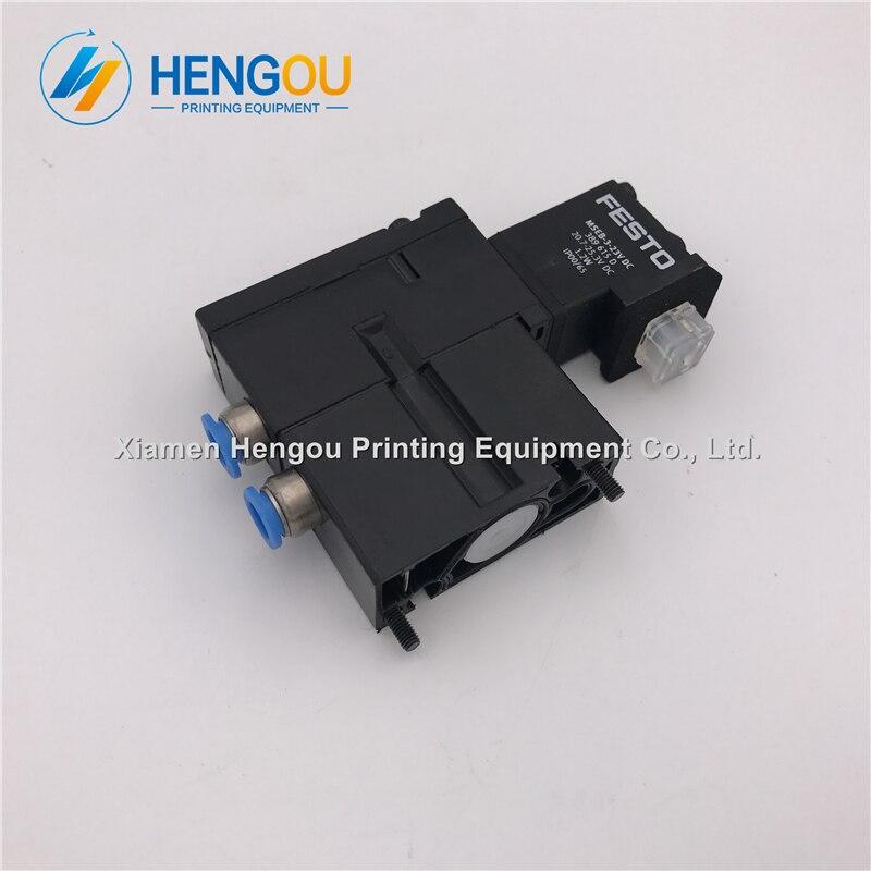 1 Piece China post free shipping Hengoucn solenoid valve MEBH 4 2 QS 4 SA M2