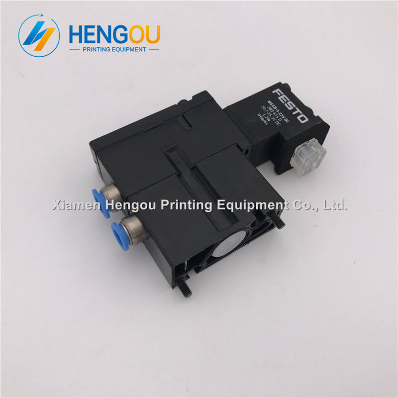 1 Piece China post free shipping Heidelberg solenoid valve FESTO MEBH-4/2-QS-4-SA M2.184.1111/05 for SM102 CD102 SM52 PM52 china post free shipping 1 piece heidelberg sm102 sensor 61 198 1563 06 61 198 1563