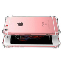 Original 360 Silicone TPU Transparent Phone Case Coque Fundas Cover For iphone 7 7Plus 6S 6 S 6Plus 8 8Plus 5 S 5S SE X