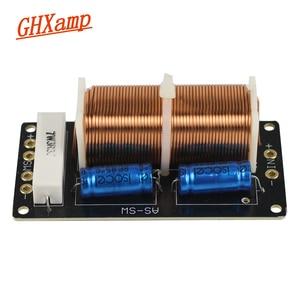Image 2 - 300 Вт сабвуфер кроссовер аудио Динамик доска 350 Гц 1 способ пассивные НЧ динамик громкое Динамик специальный делитель частоты DIY 12dB комплект из 2 предметов