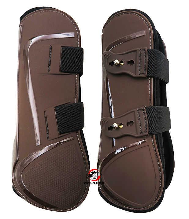 Ücretsiz kargo neopren at tendon botları, PU kabuk. At atlama koruma çift (AC7030 & 7031)