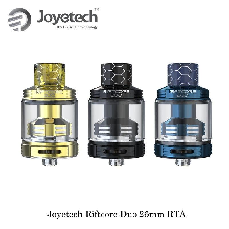 Électronique Cigaratte D'origine Joyetech Riftcore Duo 26mm RTA Réservoir Atomiseur 3.5 ml Capacité RFC Chauffe-Autonettoyant Vaporisateur Vaporisateur
