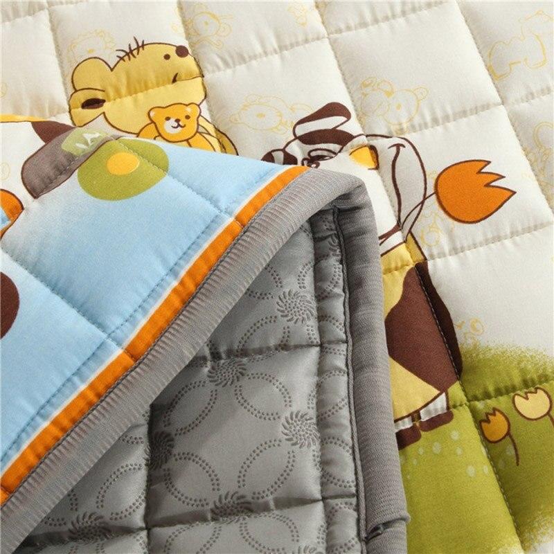 2.5cm quatre saisons épais bébé coton tapis d'escalade antidérapant bébé ramper tapis salon tapis de sol chambre tapis pour bébé cadeau - 4