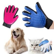 Hot Pet Dog Cat Hair Grooming Brush Glove Dog Cleaning Massage Comb Brush Pratical Deshedding