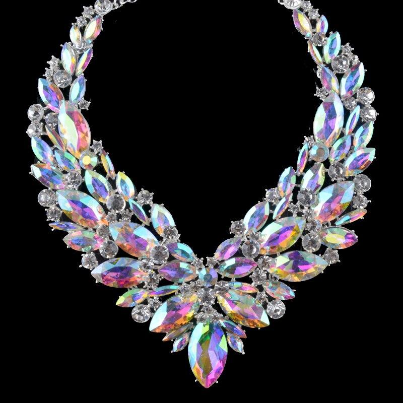 Gorgeous Bridal Jewelry жиынтығы AB түсті маркиз - Сәндік зергерлік бұйымдар - фото 4