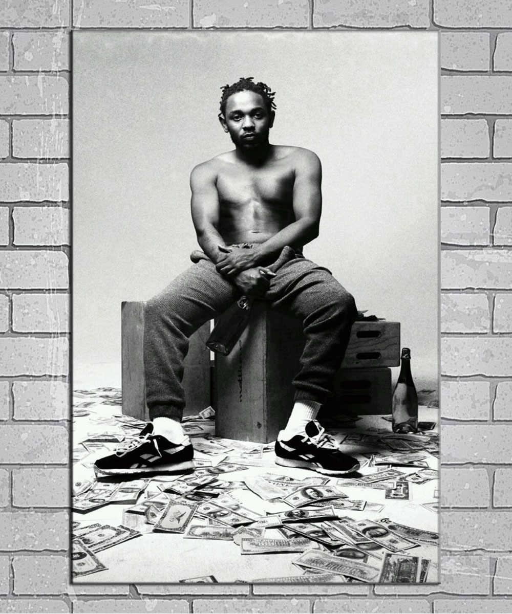 20x20 24x24 Poster Kendrick Lamar To Pimp a Butterfly Hip Hop Album Cover K-117