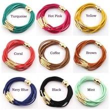 Bracelet Velvet Layer Magnetic