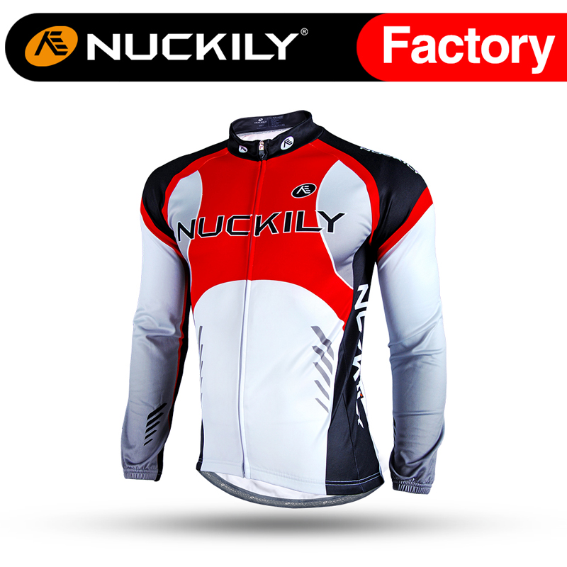 ФОТО Nuckily Winter Sublimation Race Jersey Cycling Jersey for Cyclist  NJ530-W