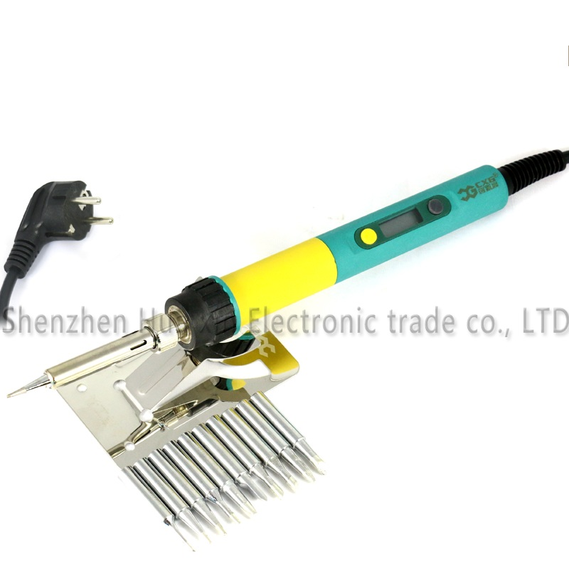 936d New Upgrade CXG 936d+ LCD Adjustable temperature Digital Electric Soldering iron EU/US/AU plug 100W+10/PCS 900M Solder tip  цены