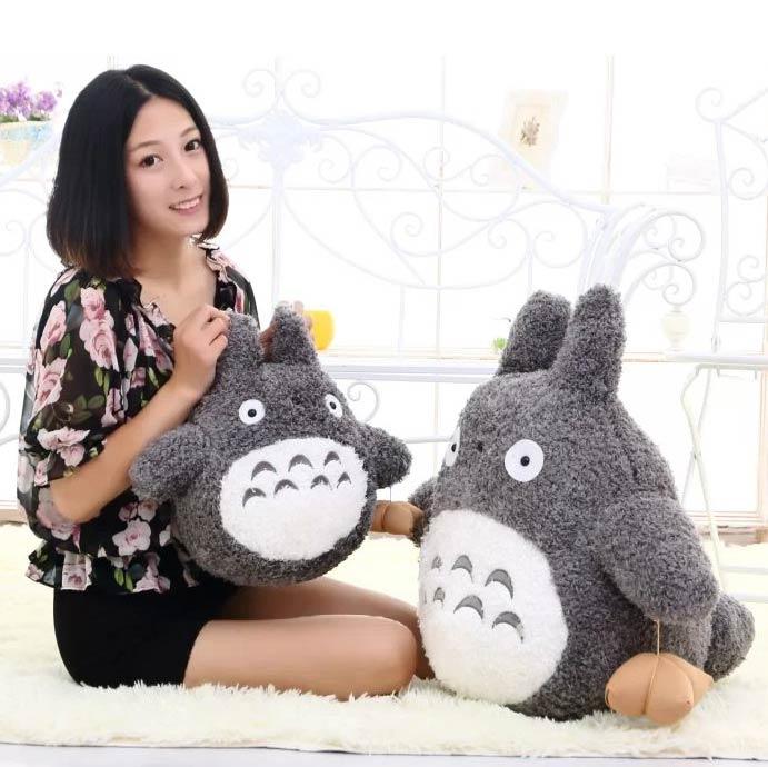 Rose Velvet plüss játék gombóc Totoro rajzfilm Valentin ajándékbáb 30cm