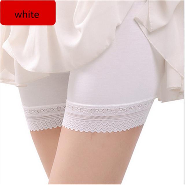 Casual Women Leggings 95% Modal Seamless Lace Bottoms Under Skirt Strech Pants 2018 Hot Female Anti Emptied Cotton Legging 55Z