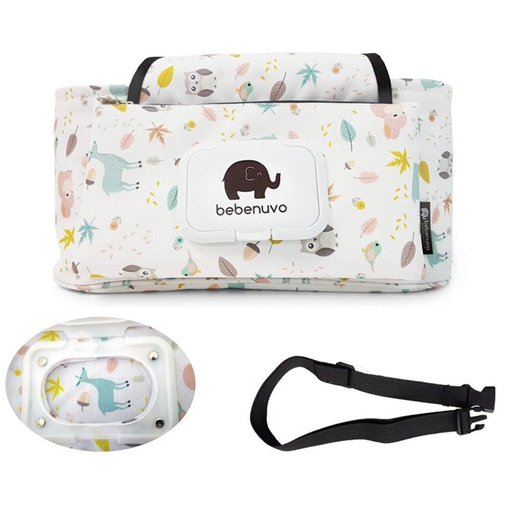 Facile grand bébé poussettes sac organisateur étanche couche-culotte sac poussette accessoires bébé sacs pour maman BCS0022
