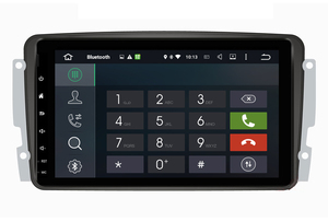 Image 5 - 옥타 코어 안 드 로이드 10.0 자동차 DVD GPS 플레이어 메르세데스 벤츠 W209 W203 M/ML W163 Viano W639 Vito Raido 스테레오 BT 4 + 32GB Wifi DAB +