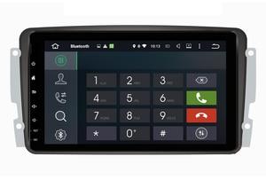 Image 5 - Octa Core Android 10.0 Auto Dvd Gps Speler Voor Mercedes Benz W209 W203 M/Ml W163 Viano W639 Vito raido Stereo Bt 4 + 32Gb Wifi Dab +