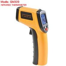 High Quality Digital GM320 Infrared Thermometer Non Contact Infrared Thermometer Pyrometer IR Laser Temperature Meter Gun цены