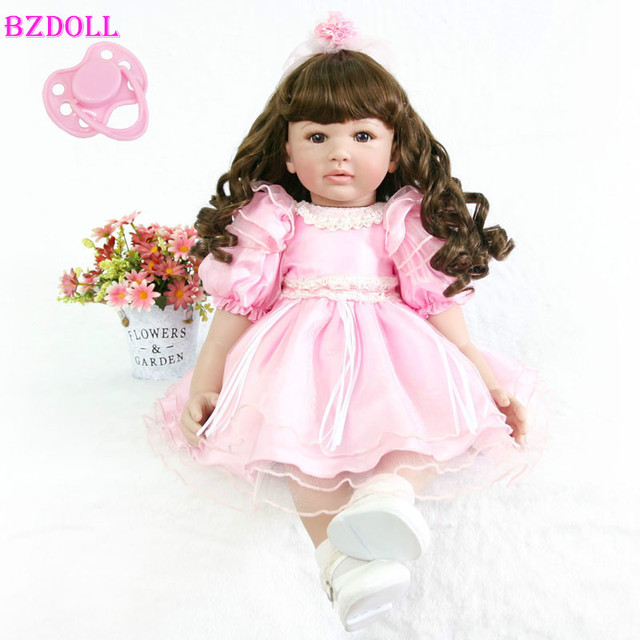 Lovely 60cm Reborn Toddler Doll 24''