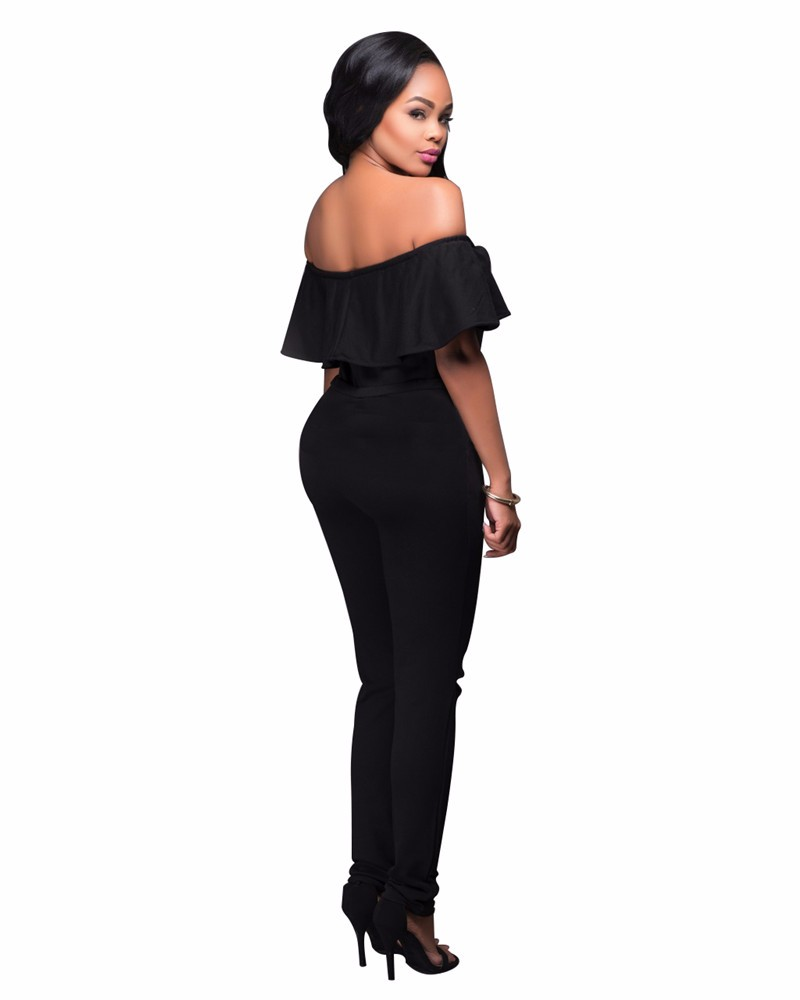 women strapless jumpsuit overall -16