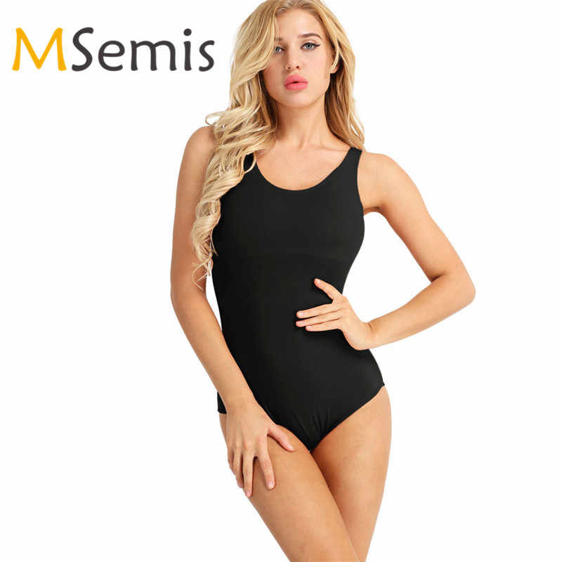Women Adult Ballet Dance Dress Built In Shelf Bra Gymnastic Swimsuit Ballet Leotards for Women High Cut Ballet Leotards Dress