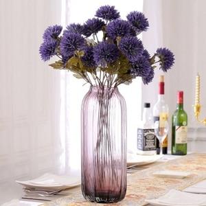 Image 5 - ประดิษฐ์ Dahlia Stem Faux Spider Dahlia ดอกไม้ผ้าไหมคุณภาพสูงดอกไม้บ้านงานแต่งงานตกแต่งสำนักงาน