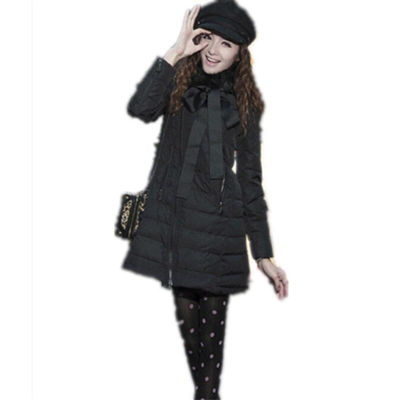 ФОТО 2017 New Fashion Winter Down Jackets Brand Women Jacket Winter Jacket Parka Raccoon Fur Collar Long Coat Cloak Coats