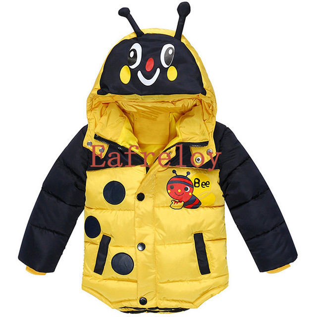 Kinderkleding Winterjas.Baby Jongens Jacket Kinderkleding Winterjas Voor Jongens Bee Bomber