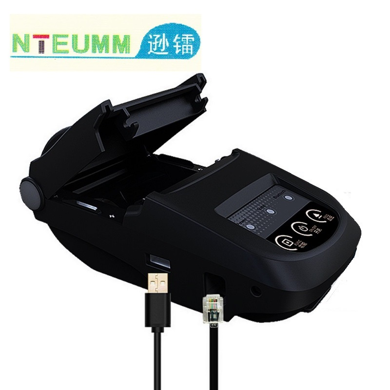 Thermal Printer 58mm Bluetooth Portable Mobile APP Mini Receipt Ticket label Printer Support Apple Windows for Store Restaurant original new for zebra mz 220 mobile thermal label printer mini portable bluetooth label printer stock clearance price