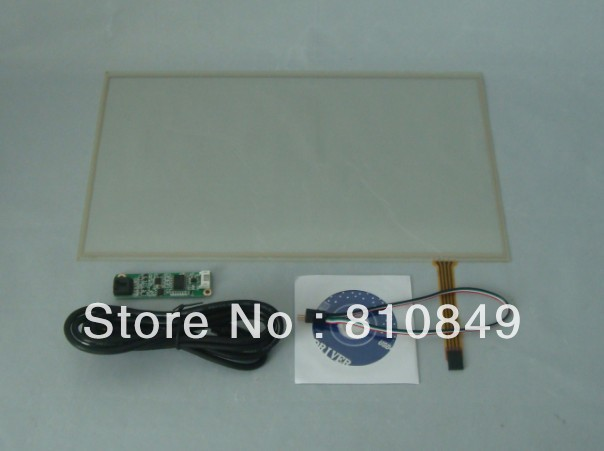 14.1inch Resistive Touch Screen For 14.1inch 1366X768 Lcd panel+USB Controller original new laptop led lcd screen panel touch display matrix for hp 813961 001 15 6 inch hd b156xtk01 v 0 b156xtk01 0 1366 768