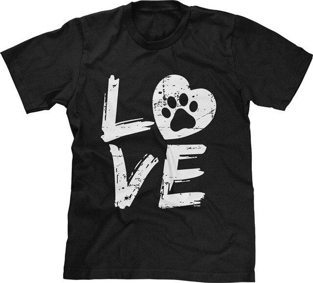 Cuore Di Zampa Stampe T-shirt 81MDauw