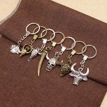 WYSIWYG Ox Horn Ngau Tau Mix Key Chain Charm For Diy Handmade Gifts