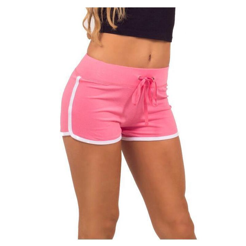 a82cadeeca Women's NoEnName_Null Fitness Sports Training Shorts Women's Yoga Shorts  Summer Large Size Cotton Sportswear Max Size L 17. 0 1 ...