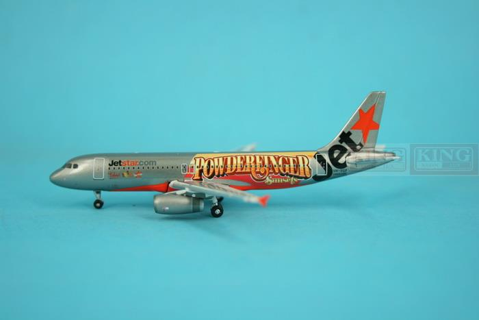 Phoenix A320 VH-VGP 1:400 10452 Jetstar commercial jetliners plane model hobby