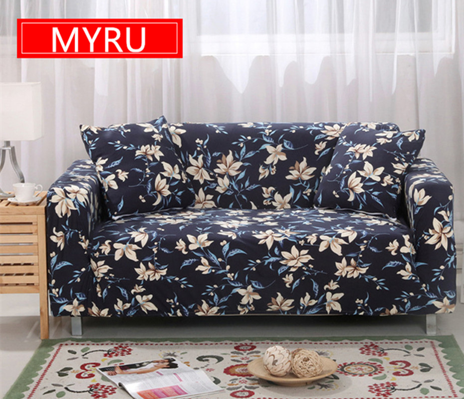 Classic Floral Sofa Slipcovers Tight Wrap All Inclusive
