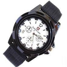 Новинка года Aimecor модные Gemius Army Racing Force военные спортивные мужские армейские тканевые часы дропшиппинг L613
