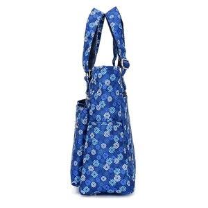 Image 2 - מזדמן נשים נסיעות למעלה ידית שקית ניילון טיול כתף תיק מוצק מומיה עמיד למים תיק נייד גדול Tote ארנק