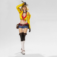 Yellow Black Camo 1/6 Female Repairwomen Full Set Action Figures For Toys Gifts Collections