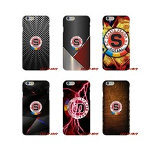 fashion SPARTA PRAHA football For iPhone X XR XS MAX 4 4S 5 5S 5C SE 6 6S 7 8 Plus ipod touch 5 6 Accessories Phone Shell Covers(China)