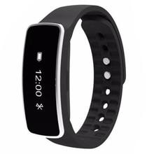 Смарт-наручные часы-браслет сна спортивные Фитнес Трекер Активности Шагомер Цвет: черный