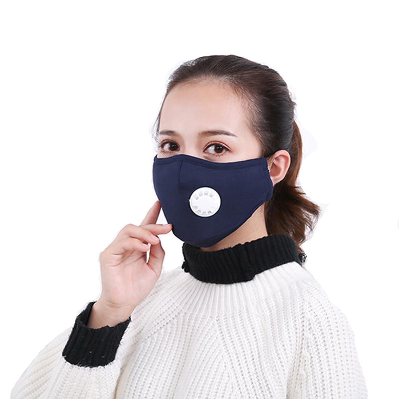 1Pcs Anti Pollution Mask Dust Respirator Washable Reusable Masks Cotton Unisex Mouth Muffle for Allergy/Asthma/Travel/ Cycling zlrowr 2pcs black health cycling anti dust cotton mouth face respirator unisex mask