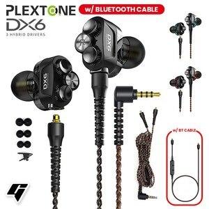 Image 3 - DX6 Auriculares deportivos con cable y Bluetooth, audífonos deportivos con cable tipo C y graves estéreo para Huawei y xiaomi